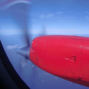 北欧旅行記 プロペラ機でゴットランドへ