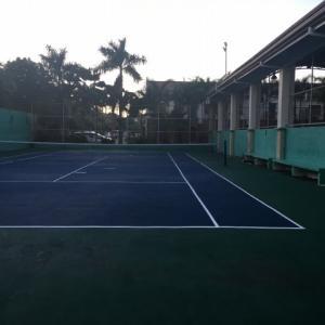 運動不足にテニス