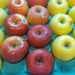 リンゴと玄米