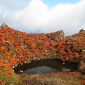 ■くじゅう大船山・御池の紅葉、そして我ながら前代未聞の……