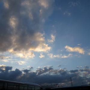 ■新年二日目の雲
