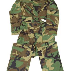 米軍実物 ウッドランド メカニクス カバーオール S