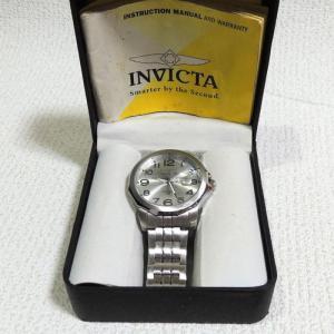 INVICTA腕時計 未使用(直径約4.5cmの大サイズ)