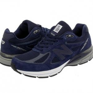 NEW BALANCE  M990NLE4  MADE IN U.S.A. NAVY US9.5