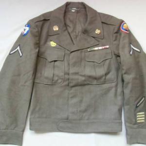 WW2米軍106師団M44フィールドジャケット/アイクジャケット