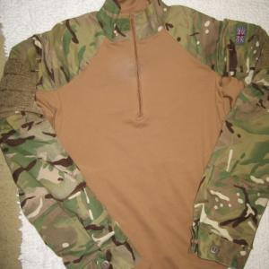 イギリス軍コンバットシャツ、パンツ