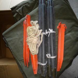 US 米軍 パップテント シェルターハーフ