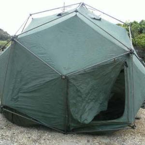 アメリカ海兵隊大型テント