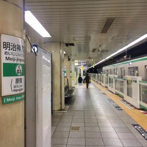 原宿→浅草→新宿→船橋→家