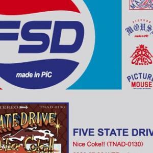 FIVE STATE DRIVE●限定缶バッチ
