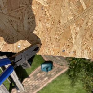 DIYで物置小屋を作ってみる #4 [屋根編]