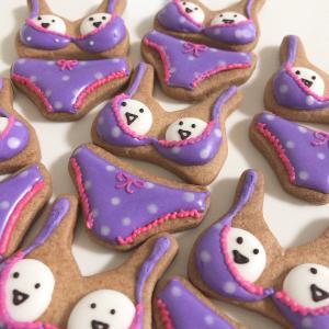 おばけビキニのハロウィンクッキー