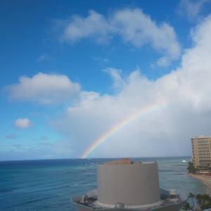 ハワイで見れたよ❤︎❤︎