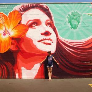 ハワイで好きなウォールアート♡ハワイ