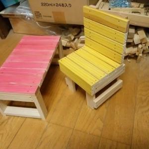 小学校での親子木工を終えて