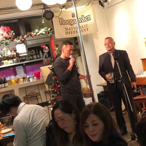中川さん、誕生日パーティー