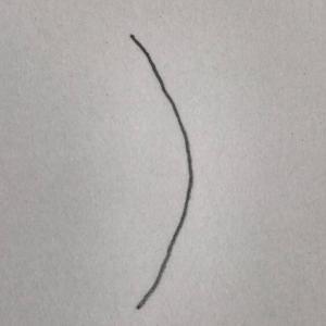 髪がハネる原因は骨格でした