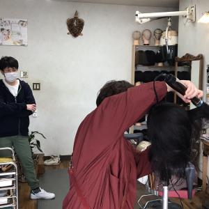 お客様も美容師も共に豊かになるキュビズムカット 徳島講習前下がりボブ