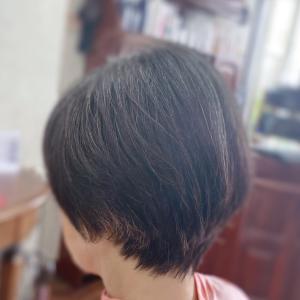 #細身に見せるカット #スキバサミつかわない #多毛を少なく #骨格補正カット #お家でヘナ