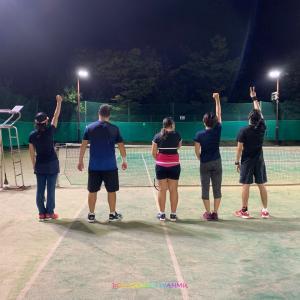 我が市のテニスの強者たち