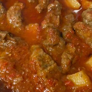 物々交換⑤ コフタのトマト煮込み