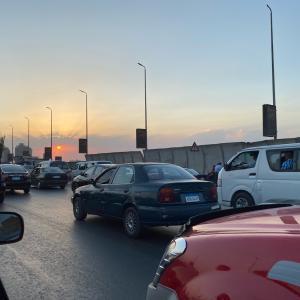 カイロの渋滞