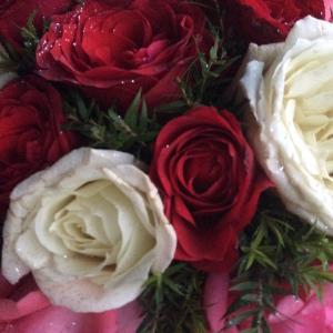 記念日に花束