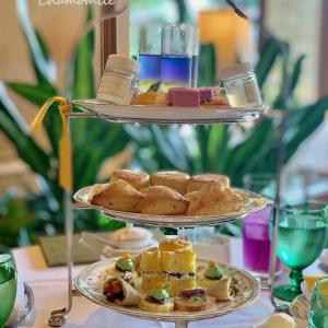 L'OCCITANE Relaxing Afternoon Tea@ホテル椿山荘東京