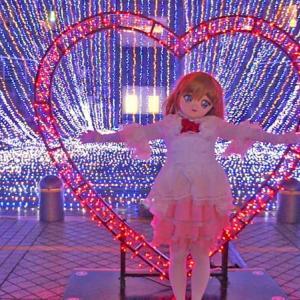 [着ぐるみロケ]イルミネーション横浜みなとみらい その1/kigurumi doll at Yokohama illumination act.1
