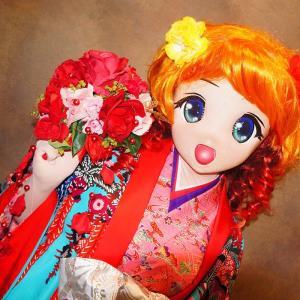 りこが琉球衣装を着てみました[着ぐるみ琉装]その1/kigurumi Riko wore Ryukyu clothes at Okinawa. Act.1