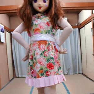 江古田ナイトバザール画像、着ぐるみでダーツ &ししまい。/kigurumi doll at Egota night bazaar