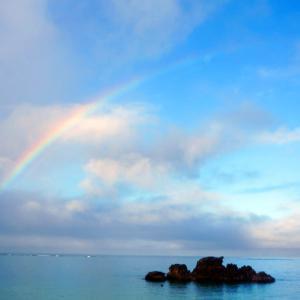 二次元嫁キャラと三次元の虹…7月16日は「虹の日」[着ぐるみ動画]/Kigurumi-Doll met the rainbow