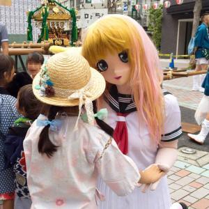 [着ぐるみでお祭り] 川崎東田商店街その9 +リカちゃん誕生日/[Festival at kawasaki]kigurumi doll participated.act 9