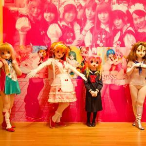 現代美術館 蜷川実花さん写真展の時の画像8/Mika Ninagawa's photo exhibition (kigurumi)8