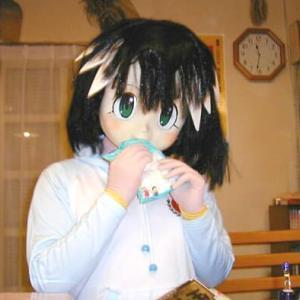 「パックマンの日」なのでアーケードゲーマーふぶきの着ぐるみ/The kigurumi doll play in Pacman's day.
