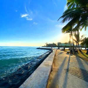 ☆サーファーで賑わうハワイの海☆