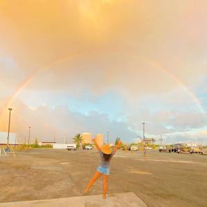 ☆最後にこんなハワイの虹のプレゼントいただきました☆
