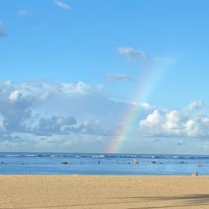 ☆海にかかる虹と今年はどうなる?!ハロウィン☆