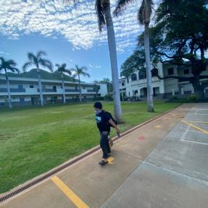 ハワイの学校1年ぶりに始まる