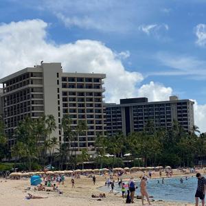ツーリストで溢れるハワイ