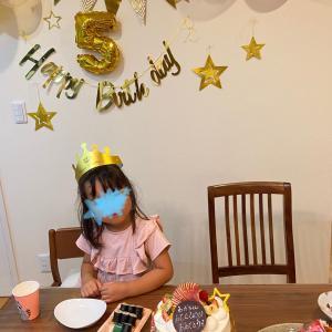 5歳バースデー