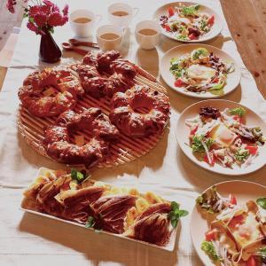 ガレット2種類&パン&スープで秋のお楽しみテーブル《滋賀大津市パン教室》