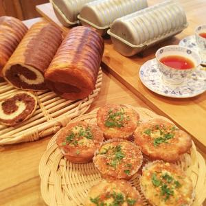 ご家族が喜ぶパン2種類作りました