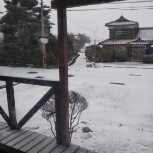 雪⛄️のためレッスン中止
