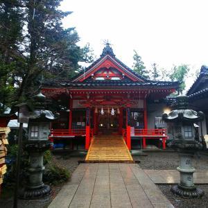 金澤神社へお参りに。