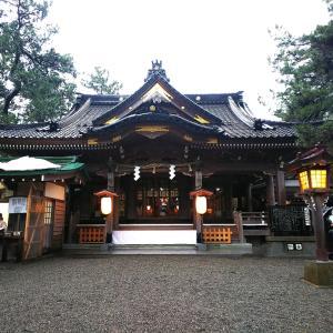 安宅住吉神社へ。
