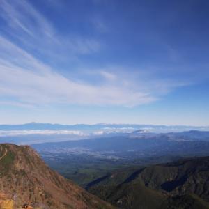 木曽の御嶽山登山 その2  3000mの頂へ。