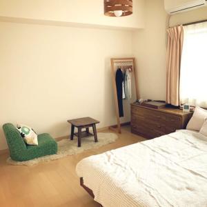 DAY7 夏の節電仕様に部屋の模様替え 寝室をワンルーム風に