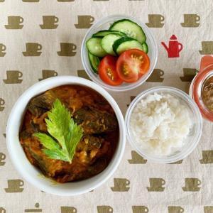 印度カリー子さんレシピのベイガンカレー弁当