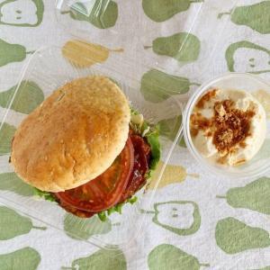 パン屋さんのハンバーガー弁当と、「暮らし」が趣味っていいなあ